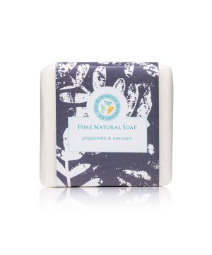 Dartmoor Skincare Peppermint and Rosemary Soap