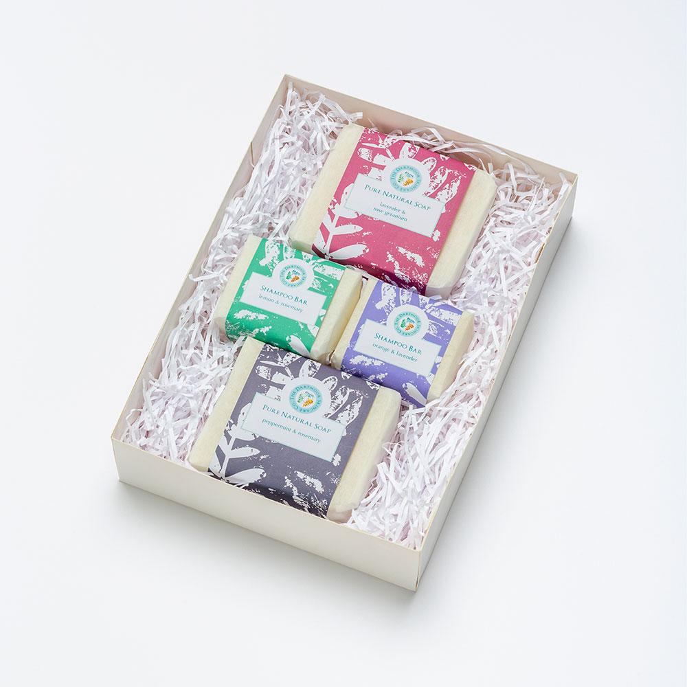 Soap & Shampoo Bar Gift Set